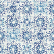 Patina Vie Fatima Tiles Wallpaper - Blue