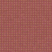 Patina Vie Petal Filigree Wallpaper - Red