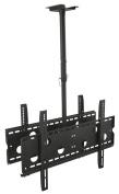 Mount-It! MI-502B Dual Screen Rotating and Tilting Ceiling Mount for Samsung, Sony, LG, Sharp,Vizio, Haier, Toshiba, Sharp, Element,Westinghouse, 4K, 32, 40, 42, 48, 50, 55, 60, 65, 70, 190cm TVs