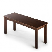 Zinus Espresso Wood Bench