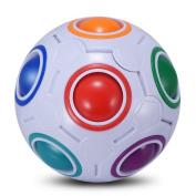 SUN Rainbow Ball Magic, Fidget toy puzzle Magic Rainbow ball puzzle, Fun fidget