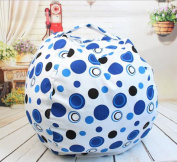 EXTRA LARGE Stuff 'n Sit - Stuffed Animal Storage Bean Bag Cover by Creative - Clean up the Room and Put Those Critters to Work for You!
