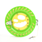 Outdoor Flying Kite Wheel Winding Reel with 350m flying Lines Flying Tools (20cm diameter Kite Wheel with 350m Line)