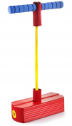 Foam Pogo Jumper For Kids - Fun And Safe Jumping Stick - Pogo Stick For Kids And Adults - Pogo Jump Makes Squeaky Sounds - Holds Up To 110kg - Great Gift For Boys And Girls - Original - By Play22