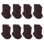 Cuccu 32pcs Chair Leg Socks-Knitting Wool Furniture Feet Socks/ Chair Leg Floor Protector/ Furniture Pads