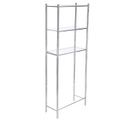 Asense Bathroom Storage Rack Shelf Spacesaver Over Toliet Organiser,