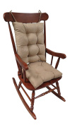 The Gripper Non-Slip Rocking Chair Cushion Set Honeycomb, X-Large, Tan