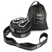 Hammock Straps - 7.3m Total Heavy Duty 2000+ LBS XL Hammock Tree Straps with 40 Loops 2 Carabiners, Carrying Bag -Tacklife GHS1A Inelastic Suspension System Sets of Equipment Suitable for all Hammock