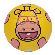 GLORY SPORTS Zoo Tribe TPU Soccer Ball with Pump for Kids …