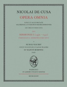 Opera Omnia. Volumen XVI/4. Sermones I, Fasciculus 4 [GER]