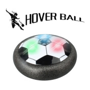 SMMER Hover Ball Air Power Soccer Disc Football Set for Kid Boys Girls Gifts Indoor Outdoor Game with LED Lights