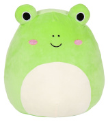 Kellytoy Squishmallow 20cm Wendy the Frog Super Soft Plush Toy Pillow Pet