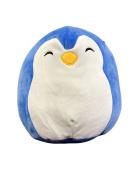Kellytoy Squishmallow 23cm Blue Penguin Super Soft Plush Toy Pillow Pet