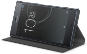 Genuine Official Sony Style Flip Cover Case SCSG10 for Sony Xperia XZ Premium - Black