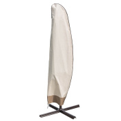 Sundale Outdoor Heavy Duty Patio Offset Cantilever Umbrella Cover Parasol Cover for 2.7m - 4.3m Umbrella , Water Resistant, Beige