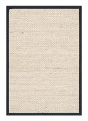 Safavieh Natural Fibre Collection NF143A Marble and Black Sisal Area Rug