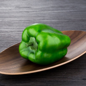 Artificial Bell Pepper Peppers-Plastic Vegetable Fruit green