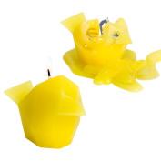 PyroPet Candles Bibi Candle, Yellow