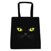 Black Cat's Eyes Tote Bag