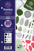 Crafter's Companion Threaders Rubber Stamp Set 14cm x 21cm