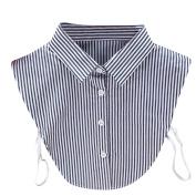 Stripe False Collar , Hunpta Women New Stripe Blouse False Collar Clothes Shirt Detachable Collars