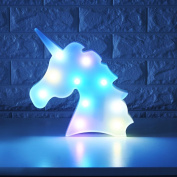 Colourful Unicorn Light,Changeable Night Lights Battery Operated Decorative Marquee Signs Rainbow LED Lamp Wall Decoration for Living Room,Bedroom ,Home, Christmas Kids Toys