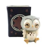 Arbeflo Cartoon Owl Resin Pen Holders Desktop Ornaments Luxury Gift and Exquisite Handicraft