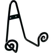 Small Black Metal Scroll Easel