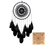 Indian Dream Catcher with Feathers Handmade Wall Hanging Ornaments Diameter 20cm