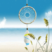 Seaside Lullaby Handmade Bohemian Dreamcatcher