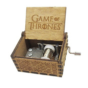 "Special Gift Music Box, ""Game of Thrones"" Handmade Engraved Wooden for Xmas Gift, Valentines - Game of Thrones"
