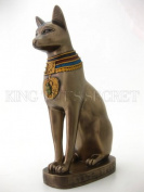 Ancient Egyptian Goddess Bastet Statue 30cm - Museum Quality