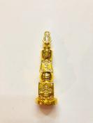 7.6cm Bejewelled Five Element Pagoda for Feng Shui USA Seller