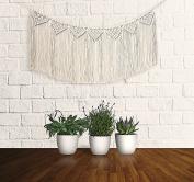 Macrame Wall Hanging – Handmade Home Decor Bohemian Fringe Garland
