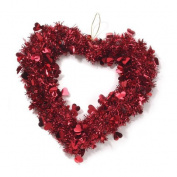 ArtVerse 36cm Valentine Heart Wreath