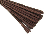 """Breath Me TM Natural Rattan Reed Diffuser Replacement Stick for Home Fragrance Diffusers 12"""" X 3mm-Coffee Brown"""