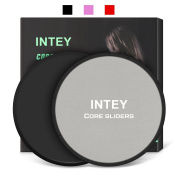 INTEY Gliding Discs Sets, Core Exercise Sliders for Abdominal Workout Core Sliders Dual Sided for Carpet and Hard Floors At Home & Gym