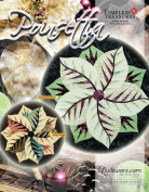 Poinsettia Table Topper Quilt Pattern by Quiltworx