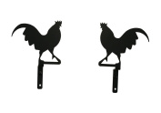 17cm Rooster Curtain Swags