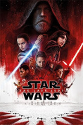 "Posters USA - Star Wars the Last Jedi 2017 Episode VIII 8 Movie Poster GLOSSY FINISH - FIL677 (24"" x 36"""