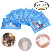 DatingDay 10 Pcs 9g SAP Magic Instant Fake Fluffy Snow Super Absorbant Christmas Wedding Decor
