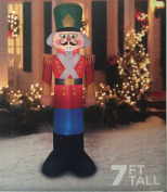 Nutcracker Christmas Toy Soldier Inflatable 2.1m Tall