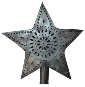 Large Star Tree Topper 24cm - Perfect For Country Christmas Tree