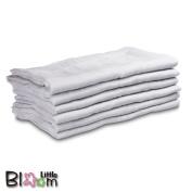 LittleBloom, 100% Cotton Muslin Squares