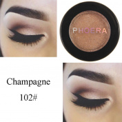 Oyedens PHOERA Glitter Shimmering Earth Colours Eyeshadow Metallic Eye Makeup Palette