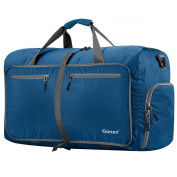 Gonex 80L Foldable Travel Duffel Bag for Luggage Gym Sports, Lightweight Travel Bag with Big Capacity, Water Resistant