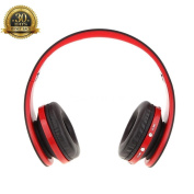 Bluetooth Headphones Over Ear,AXbeats Hi-Fi Stereo Wireless Headset, Foldable, Soft Memory-Protein Earmuffs, w/ Built-in Mic and Wired Mode for PC/ Cell Phones/ TV