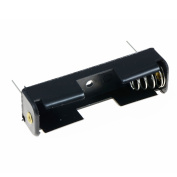 TOOGOO(R) AA/1.5V/PP3 Battery Holder/Connector Enclosed or Open with Switch, Battery Holder AA x 1 Holder PCB Amount:5