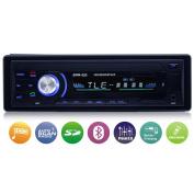 Car Stereo with Bluetooth,Single Din Car Radio,Universal In-Dash Car MP3 Player AM/USB/SD Card/FM Radio with Remote Control, Digital Media Player