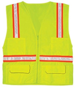 ML Kishigo 1092 Multi-pocket Surveyors Vest - Economy